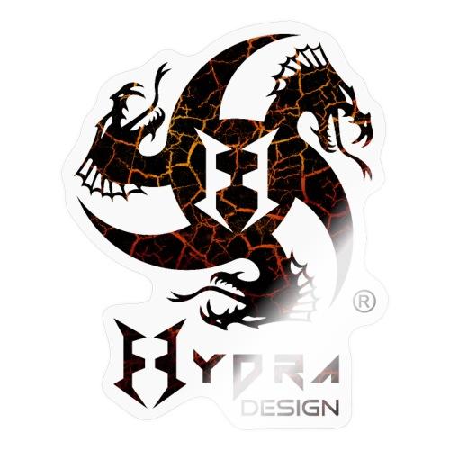 Hydra Design - logo Cracked lava - Adesivo