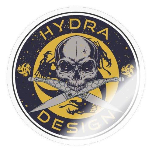 Hydra Design Roman knives & skull - Adesivo