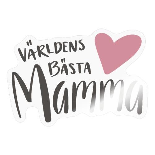 Världens bästa Mamma - NEW - Klistermärke