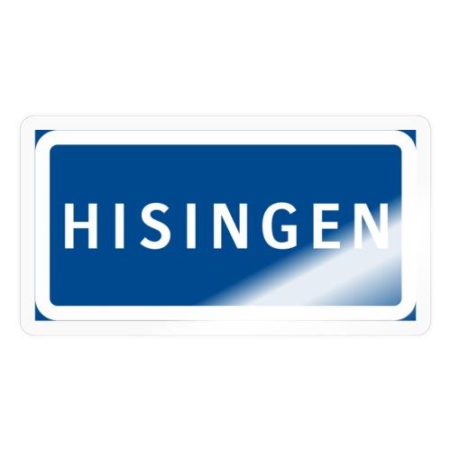 Vägskylt Hisingen - Klistermärke