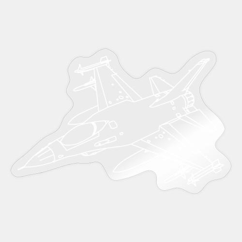 F-16 Viper / Fighting Falcon jet fighter / F16 - Sticker