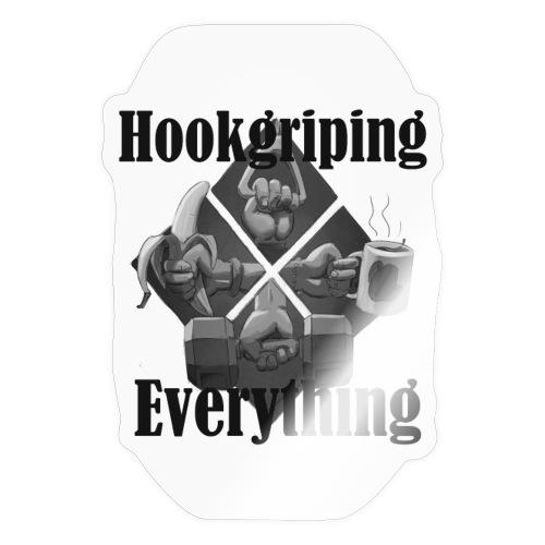 Hook Grip - Pegatina
