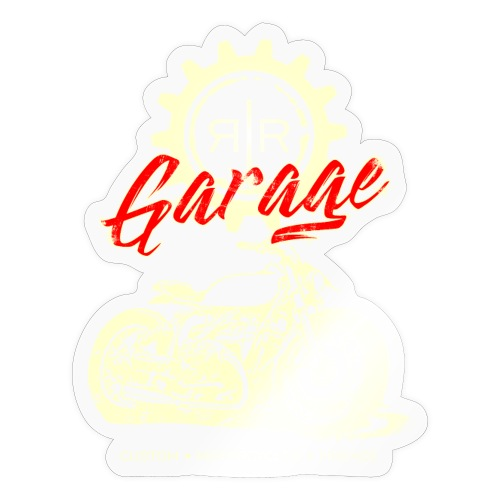 RR GARAGE VINTAGE BIKE - Adesivo