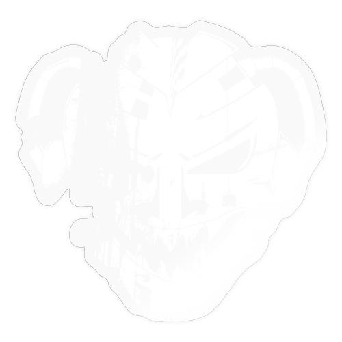 logoSEUA dirty White - Klistermärke