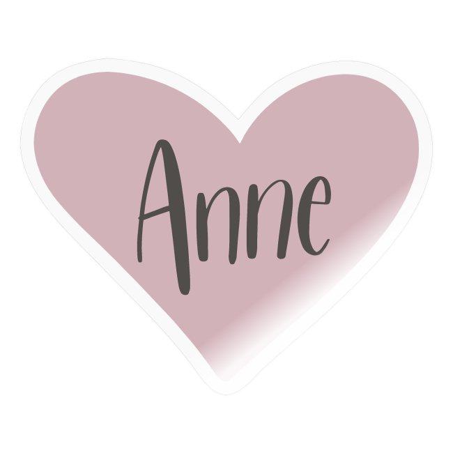 Anne - hjärta