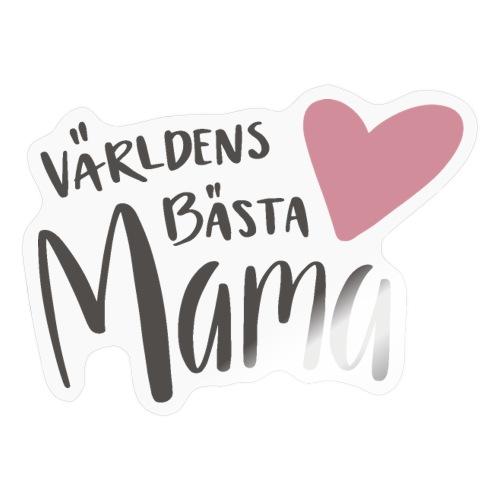 Världens bästa Mama - Klistermärke