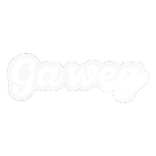 Ga weg - Sticker