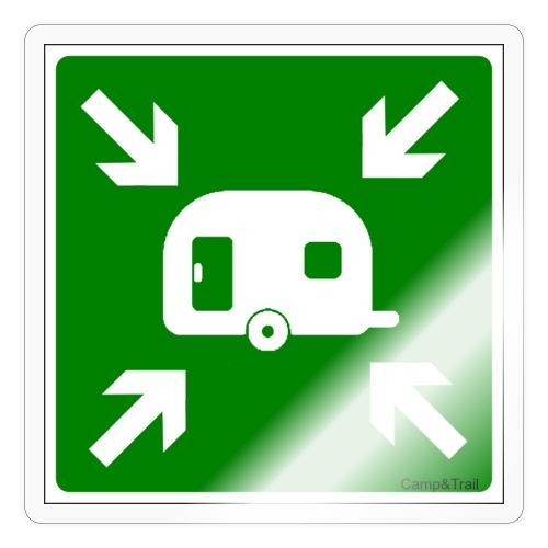 Meeting Point Caravan - Sticker