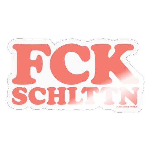 FCKSCHLTTN rosé - Sticker