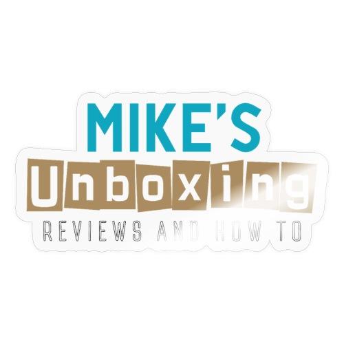 Mikesunboxing Classic Logo - Sticker