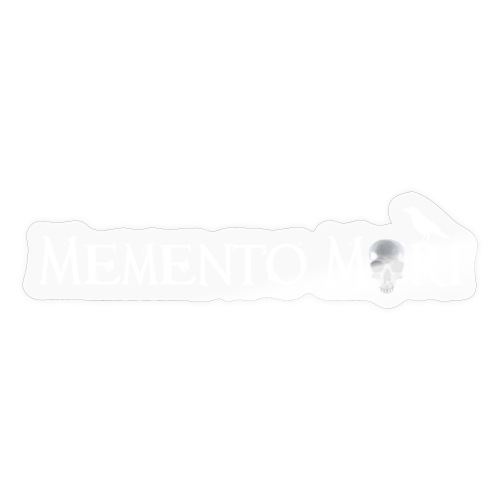 Memento mori - Adesivo