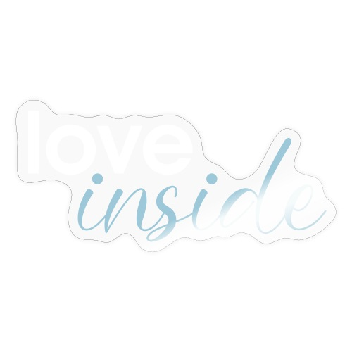 love inside 01 - Sticker
