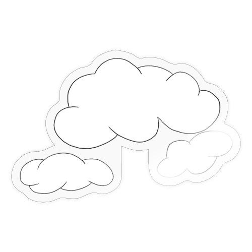 Wolken - Sticker