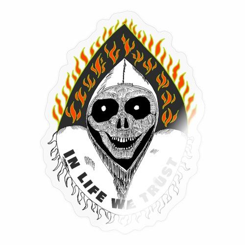 death txt in life we trust version - Autocollant