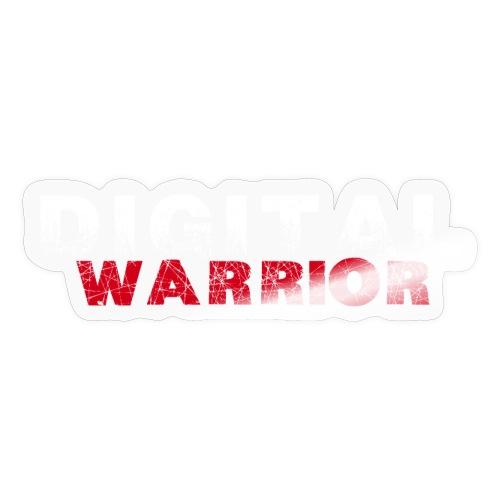 DIGITAl WARRIOR II - Naklejka