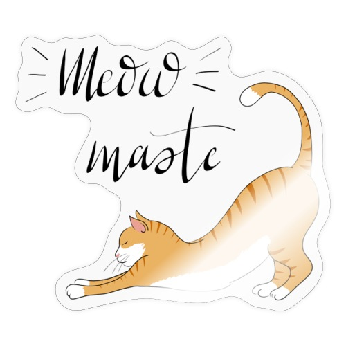 Meowmaste - Sticker