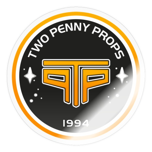 Two Penny Props Vintage - Sticker