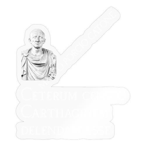 Antica Roma Catone - Adesivo