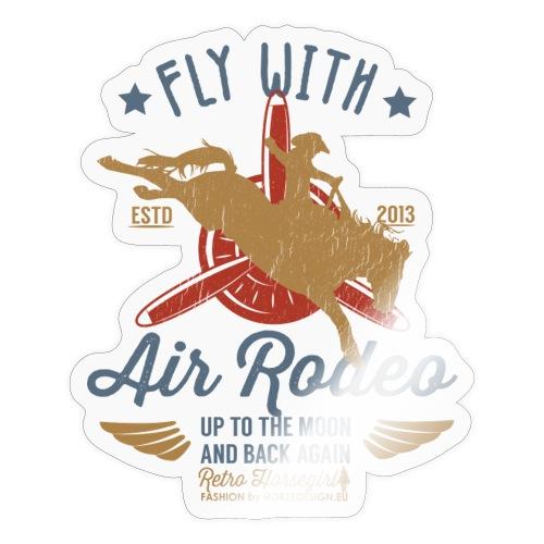 Flieg mit uns - Sticker