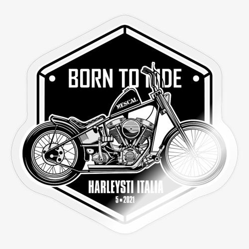 Born to Ride - Vintage motorbike - Adesivo