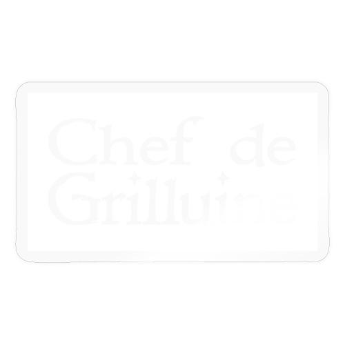 Chef de Grilluine - der Chef am Grill - Sticker