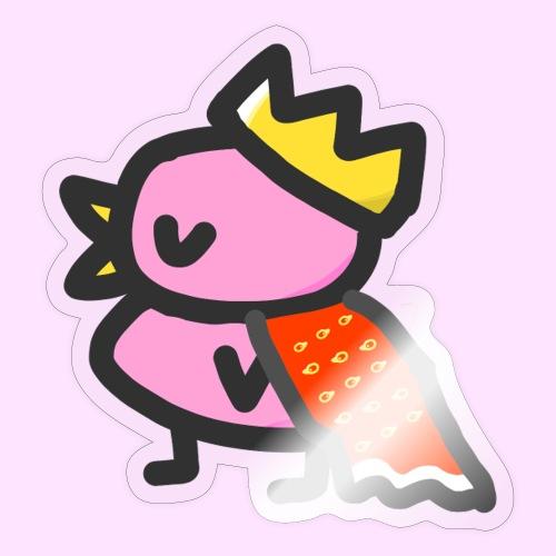 Royal Pinkguin - Sticker