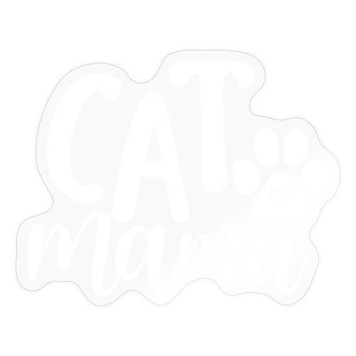 CAT MAMA - Autocollant