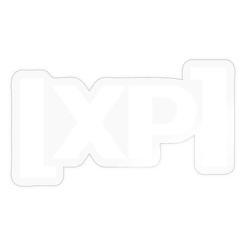 Klammelogo XP (hvid) - Sticker