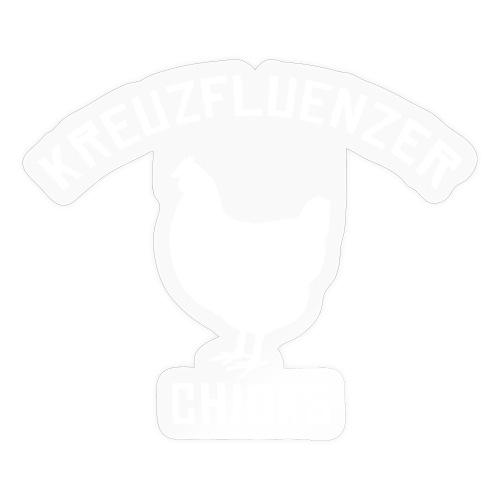Kreuzfluenzer Chicks WHITE - Sticker