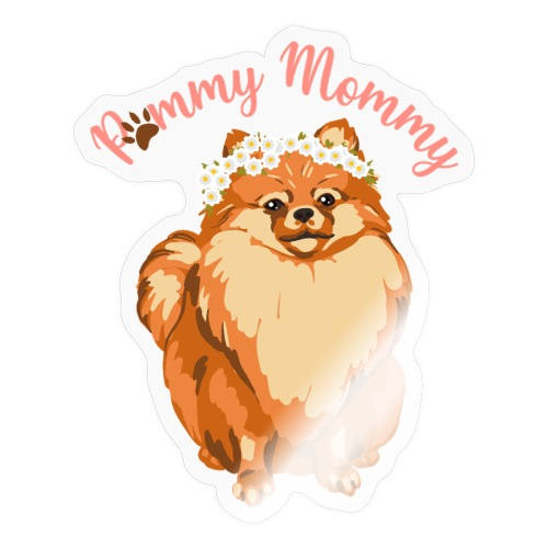 Pommy Mommy Pomeranian - Klistermärke