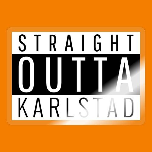 Straight outta Karlstad - Klistermärke