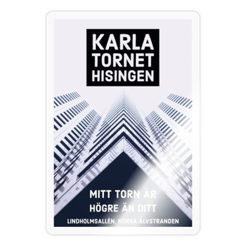 Karlatornet - Klistermärke
