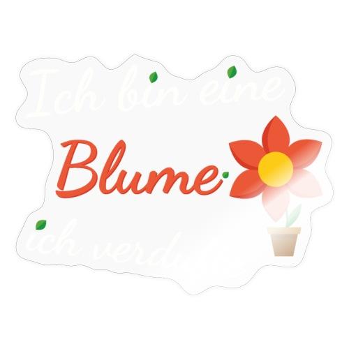 Blume Garten Gärtner Florist Shirt Geschenk - Sticker