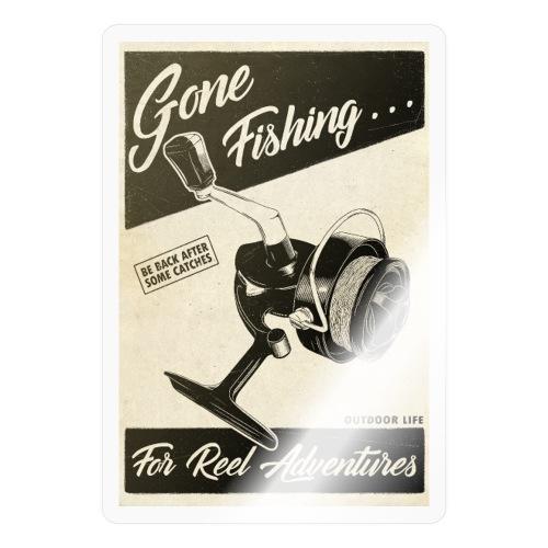 Gone Fishing - Autocollant