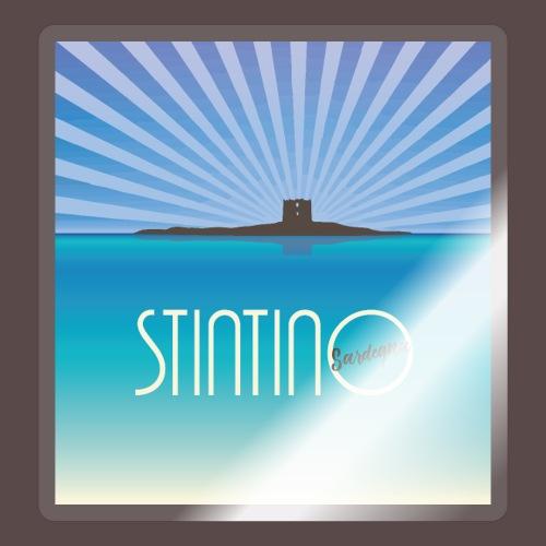 Stintino, vintage poster - Adesivo