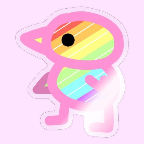 Rainbowguin - Sticker