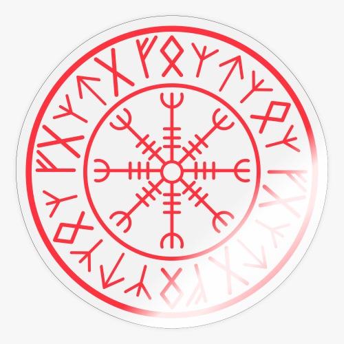 Helm of Awe Aegirsjhalmr - Sticker