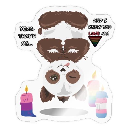 Panda Love - Sticker