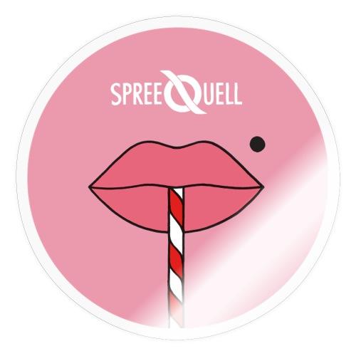 Spreequell Mund - Sticker