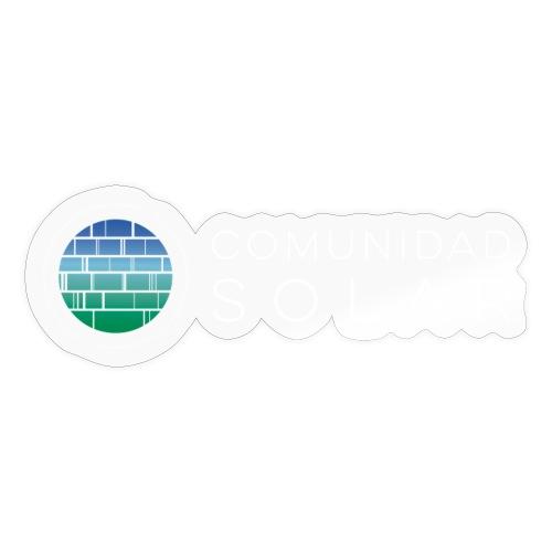 Comunidad Solar BASIC + Black - Pegatina