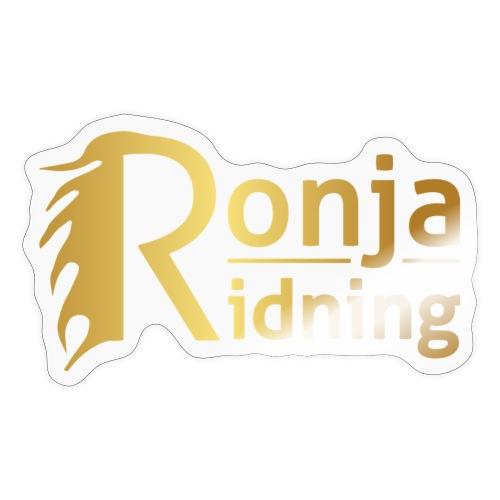 Ronja Ridning - Sticker