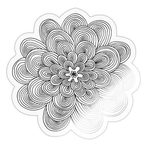 hypnotic flower - Adesivo