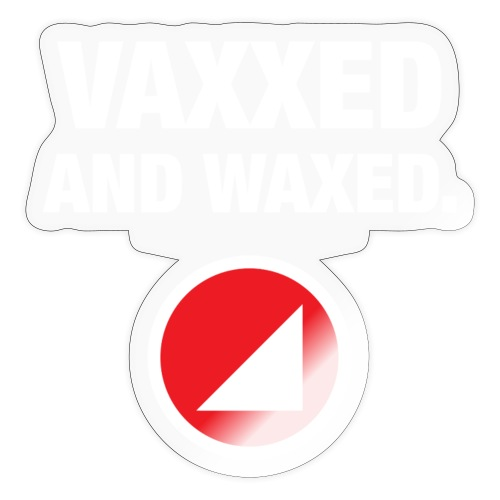 VAXXED - Pegatina