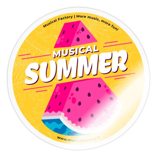 Musical Summer - Adesivo