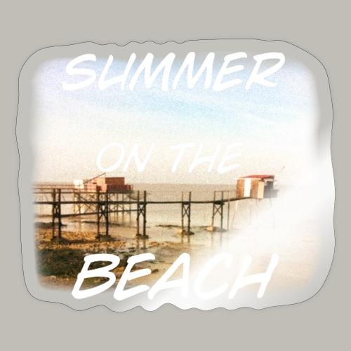 Summer on the beach - Autocollant
