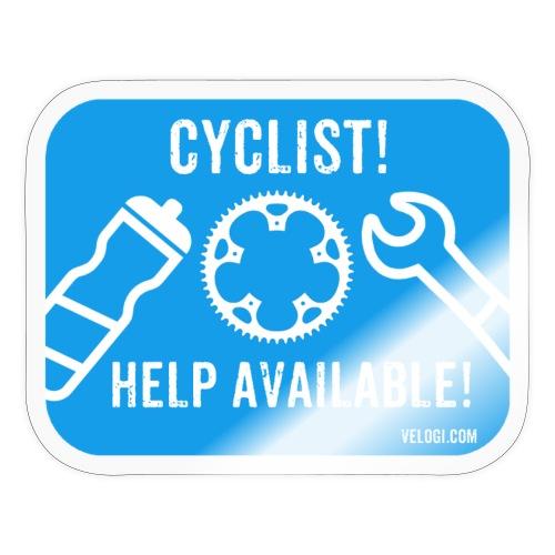 Cyclist help available! - Tarra