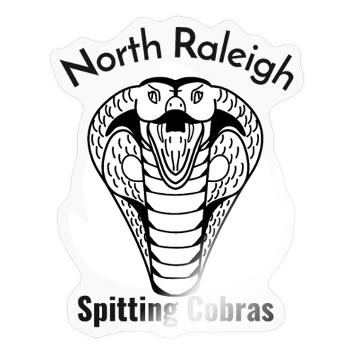 North Raleigh Spitting Cobras - Autocollant