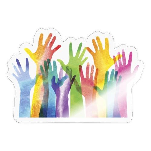 Alll hands - Sticker