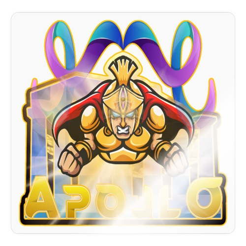 APOLLO - Gott des Lichts, der Heilung, der Musik.. - Sticker