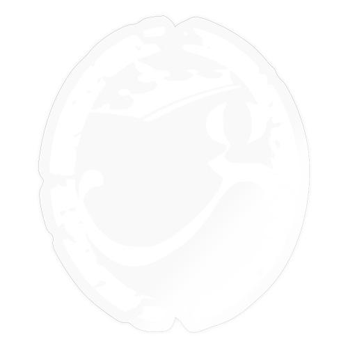 Logo G-Godsèd Blanc - Autocollant